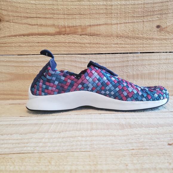 best website 17648 8a214 Nike Air Woven Premium 898028-400 Binary Blue Whit